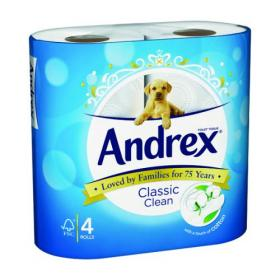 Andrex(R) Classic Clean Toilet Roll (Pack of 24) 4480115