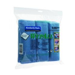 Cheap Stationery Supply of Wypall Microfibre Cloth Blue (Pack of 6) 8395 Office Statationery