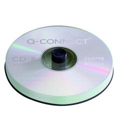 Cheap Stationery Supply of Q-Connect CD-R 700MB/80minutes Spindle (Pack of 50) KF00421 Office Statationery