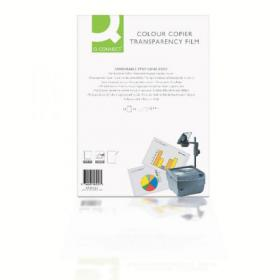 Q-Connect Laser Copier Over Head Projection Film (Pack of 50) KF00533