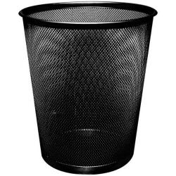 Cheap Stationery Supply of Q-Connect Waste Basket Mesh 18 Litre Black KF00871 Office Statationery