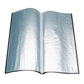 Q-Connect Polypropylene Display Book 10 Pocket Black KF01248
