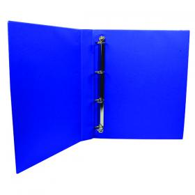 Q-Connect Presentation 25mm 4D Ring Binder A4 Blue KF01327
