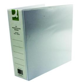 Q-Connect Presentation 65mm 4D Ring Binder A4 White (Pack of 6) KF01334Q