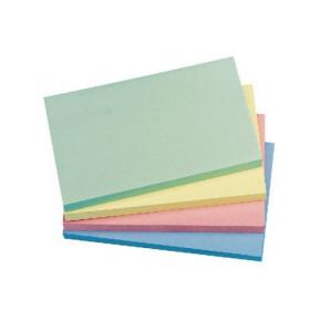 Q-Connect Quick Notes 76 x 127mm Pastel (Pack of 12) KF01349