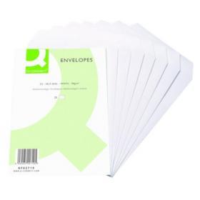 Q-Connect C5 Envelopes Pocket Self Seal 90gsm White (Pack of 500) KF02719