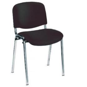Jemini Ultra Multi Purpose Stacking Chair Charcoal/Chrome KF03350