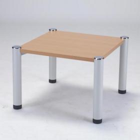 Avior Beech 635x635x460mm Square Table KF03531