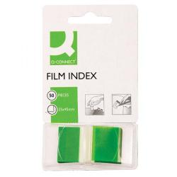 Cheap Stationery Supply of Q-Connect Page Marker Green (Pack of 50) KF03635 Office Statationery