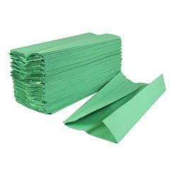 Cheap Stationery Supply of 2Work 1-Ply C-Fold Hand Towels Green (Pack of 2880) HC128GRVW Office Statationery