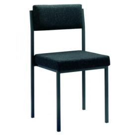 Jemini Multi Purpose Stacking Chair Charcoal KF04000