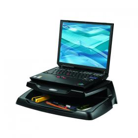 Q-Connect Laptop and LCD Monitor Stand Black KF04553