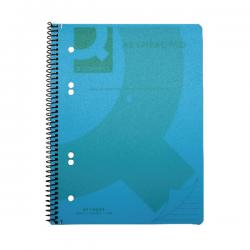 Cheap Stationery Supply of Q-Connect Spiral Bound Polypropylene Notebook 160 Pages A5 Blue (Pack of 5) KF10034 Office Statationery