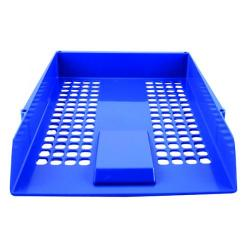 Cheap Stationery Supply of Q-Connect Letter Tray Blue CP159KFBLU Office Statationery