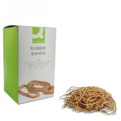 Cheap Stationery Supply of Q-Connect Rubber Bands No.30 50.8 x 3.2mm 500g KF10535 Office Statationery