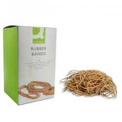 Cheap Stationery Supply of Q-Connect Rubber Bands No.75 101.6 x 9.5mm 500g KF10560 Office Statationery