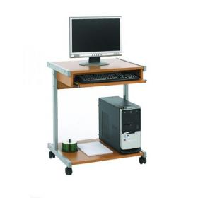 Serrion Beech 650mm Mobile Computer Workstation KF14101