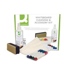 Cheap Stationery Supply of Q-Connect Whiteboard Cleaning and Accessory Kit AWAK000QCA Office Statationery
