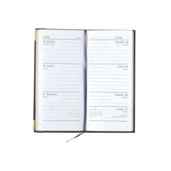 Cheap Stationery Supply of Condiary Executive 2014 Diary Slim Week to View Portrait Blue KF1GCBU14 Office Statationery