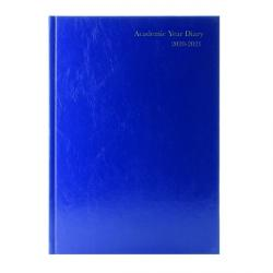 Cheap Stationery Supply of Academic Diary Day Per Page A4 Blue 2020-21 KF1A4ABU21 Office Statationery