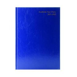 Cheap Stationery Supply of Academic Diary Day Per Page A5 Blue 2021-22 KF1A5ABU21 Office Statationery