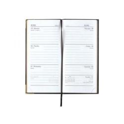 Cheap Stationery Supply of Condiary Executive Diary Slim Week to View Portrait Black KF1GCBK14 Office Statationery