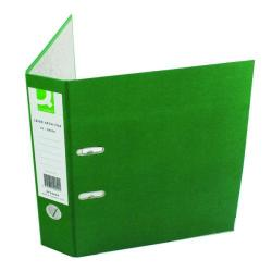 Cheap Stationery Supply of Q-Connect Lever Arch File Paperbacked A4 Green (Pack of 10) KF20040 Office Statationery