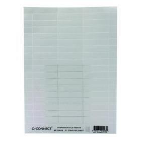 Q-Connect Suspension File Insert White (Pack of 51) KF21003