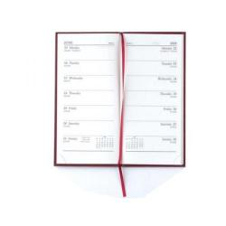 Cheap Stationery Supply of Condiary 2014 Diary Slim 2 Weeks to View Portrait Burgundy KF2BG14 Office Statationery