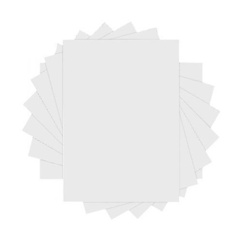 pack of 250 A4 NO window 90 gsm white self-seal C4 plain business envelopes