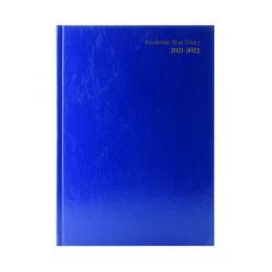 Cheap Stationery Supply of Academic Diary Week To View A4 Blue 2021-22 KF3A4ABU21 Office Statationery