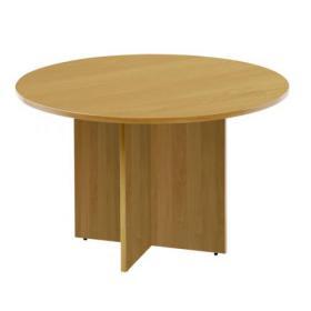 Arista Maple 1100mm Round Meeting Table KF72049