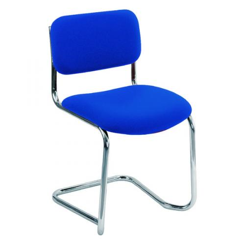 CH0501 Arista Cantilever Meeting Chair Blue