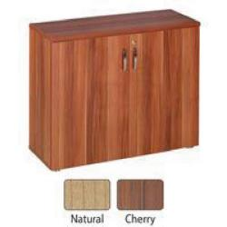 Cheap Stationery Supply of Avior Cherry 800mm Cupboard Doors (Pack of 2) KF72320 Office Statationery