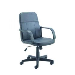Cheap Stationery Supply of Jemini Trent Leather Look Chair KF73635 Office Statationery
