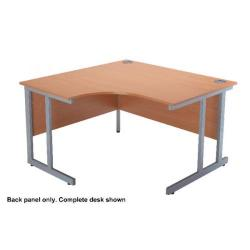 Cheap Stationery Supply of FF Jemintro 1200mm Radial Cantilever Back Panel Oak KF73959 Office Statationery
