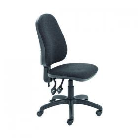 Jemini Teme High Back Operator Chair 640x640x985-1175mm Charcoal KF74120