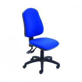 Jemini Teme Deluxe High Back Operator Chair 640x640x985-1175mm Blue KF74121