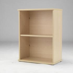 Serrion 800mm Warm Maple Desk High Bookcase KF74132