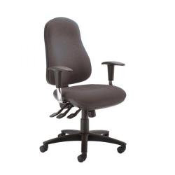 Cheap Stationery Supply of Cappela Active High Back Posture Task Black Chair KF74185 Office Statationery