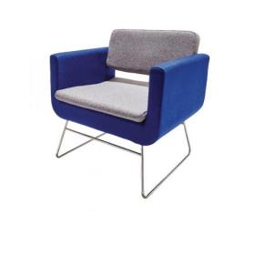 Avior Single Seat Chair Grey and Blue KF74640