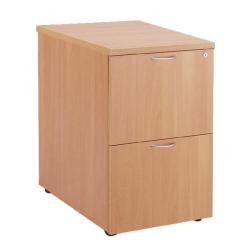 Cheap Stationery Supply of First Filing Cabinet 2 Drawer Beech KF74902 Office Statationery