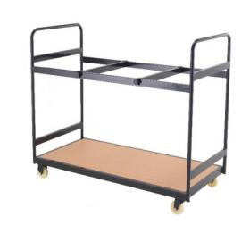 Titan Folding Exam Desk Trolley 25 Capacity KF78655