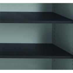 Cheap Stationery Supply of Talos Tambour Black Shelf - designed for use with Talos side opening tambour cupboards - KF78776 Office Statationery