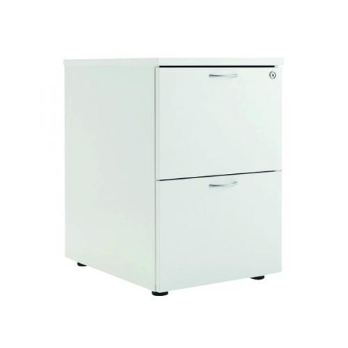 First White 2 Drawer Filing Cabinet Kf79919 Kf79919