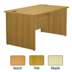 Cheap Stationery Supply of Jemini Maple 1200mm Panel End Rectangular Desk KF838086 Office Statationery
