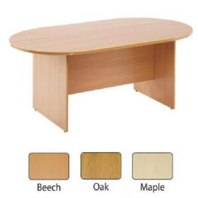 Arista Oak 2400mm Boardroom Table KF838284