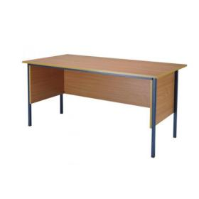 Serrion Bavarian Beech 1500mm Four Leg Desk KF838369