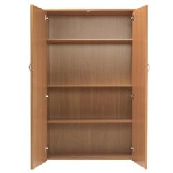 Cheap Stationery Supply of Serrion Bavarian Beech 1750mm Cupboard KF838403 Office Statationery