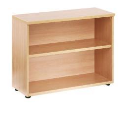 Cheap Stationery Supply of Jemini 730mm Bookcase 1 Shelf Oak KF838416 Office Statationery